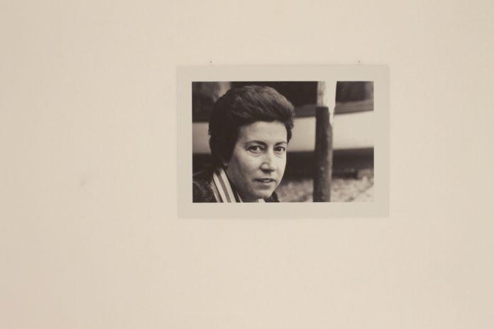 Ritratto fotografico di Marisa Volpi negli anni '80. Photo Carlotta Barillà