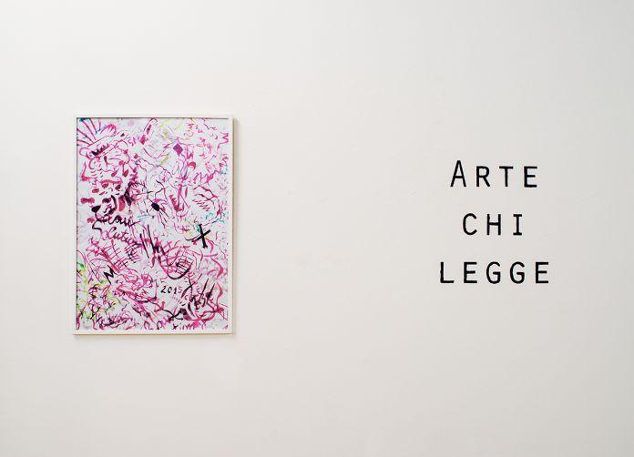 Roberto Fassone, Luce sempiterna della mente pura, installation view at Placentia Arte 2017
