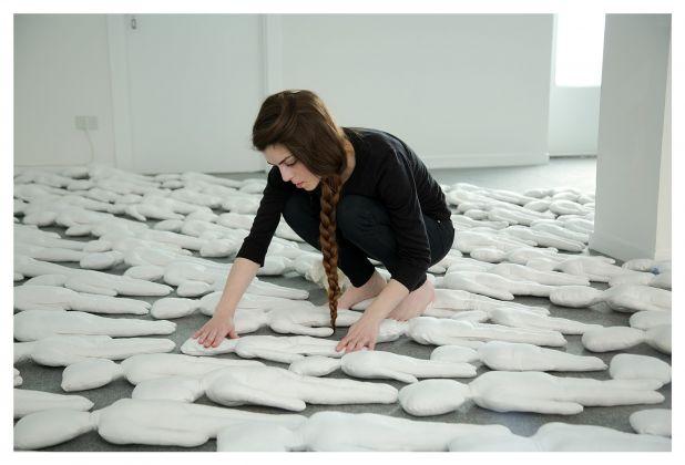 Sacha Turchi, Tradere, 2017. Exhibition view at Davide Paludetto Arte Contemporanea, Torino 2017