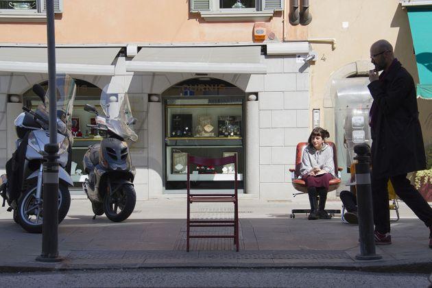 Seduti sulla stessa sedia facciamo sogni diversi, workshop con Stefano Romano, c-o Giacomo, 2017