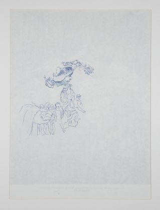 Stefano Arienti, Gargantua e Pantagruel (da Dorè), 1991. Photo Roberto Marossi