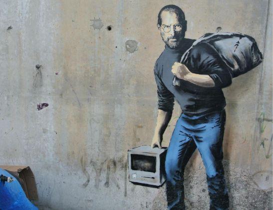 Steve Jobs profugo - La giungla di Calais - Francia - 2015