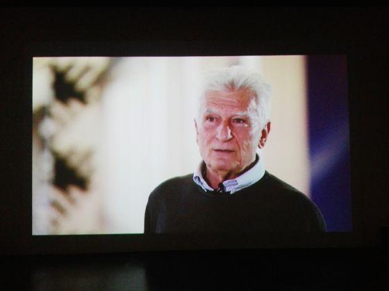 Still dalla videointervista a Mauro Galligani, 2017