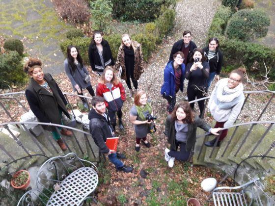 Studenti del corso di Performance Art, Saci Firenze, Spring Semester 2017