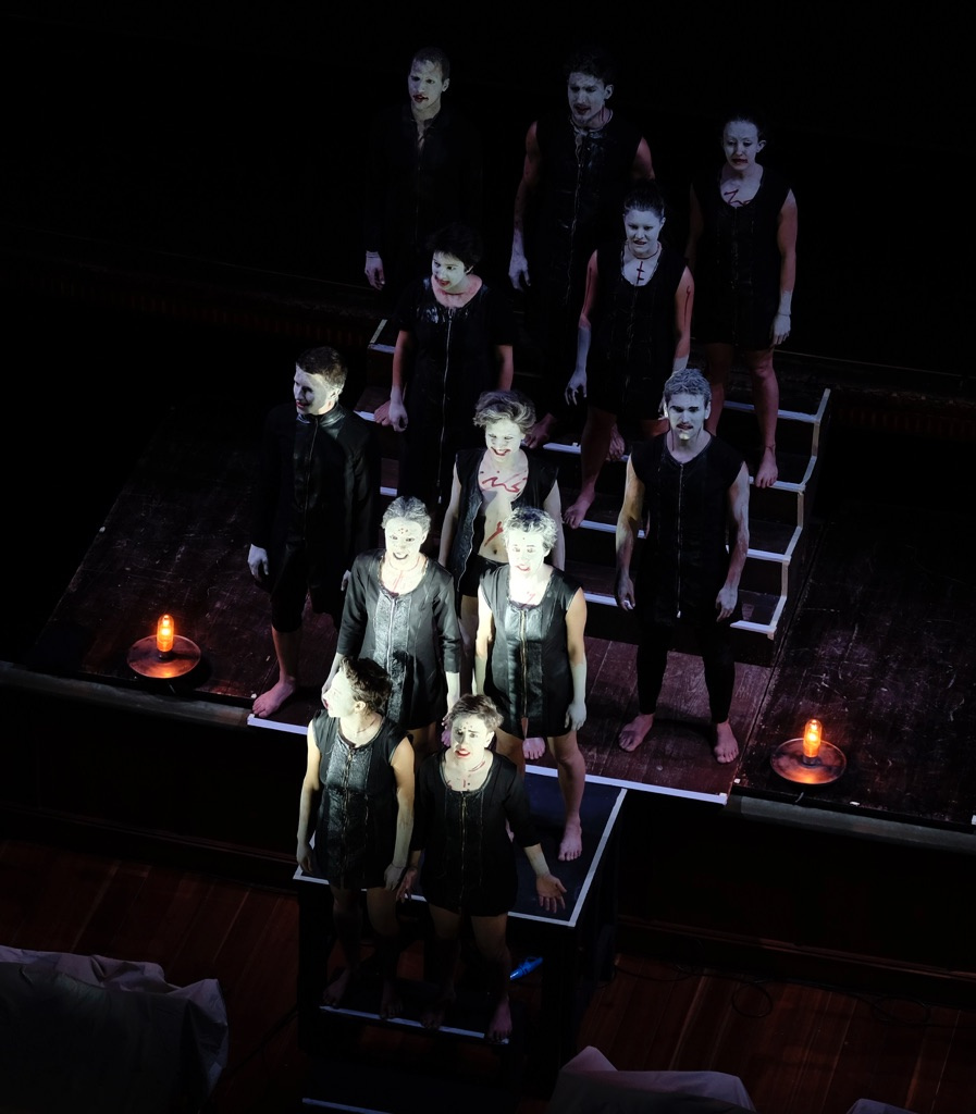 Teatro Valdoca, Giuramenti. Photo Maurizio Bertoni