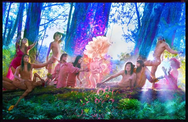 The First Supper, 2017 © David LaChapelle