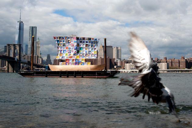 The Ship of Tolerance di Ilya ed Emilia Kabakov a New York nel 2014. Photo Jenia Friedland