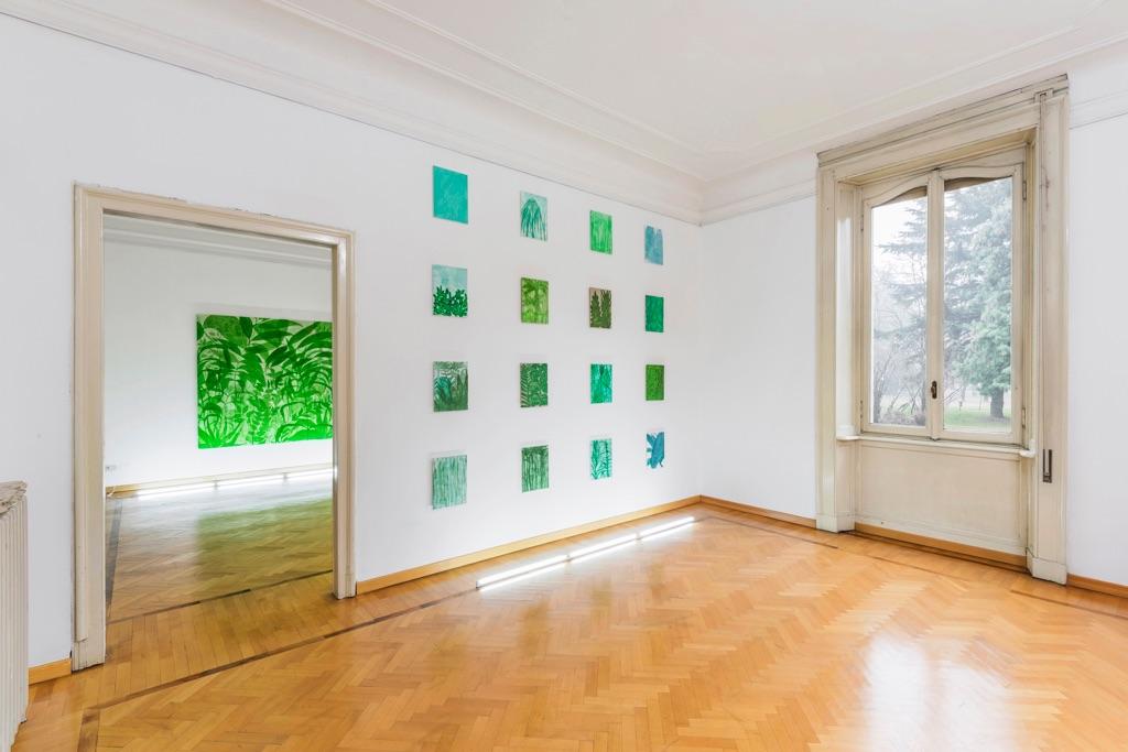 Thomas Berra. Dopo il diluvio. Installation view at Villa Vertua Masolo, Nova Milanese 2017