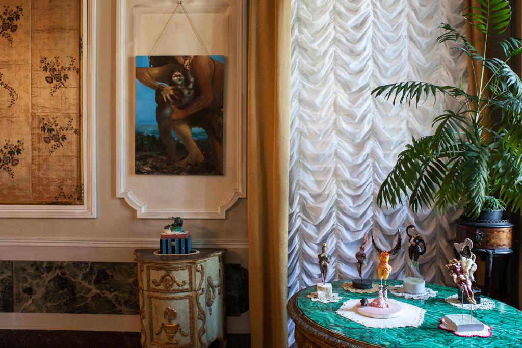 Thomas Braida. Solo. Installation view at Palazzo Nani Bernardo Lucheschi. Photo Andrea Ferro