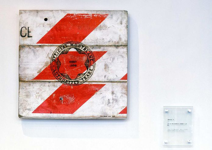 Tom Sachs, Official Montblanc Authorized Trade, 2002, Montblanc Cutting Edge Art Collection