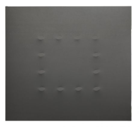 Turi Simeti, Quadrato su quadrato, 2015