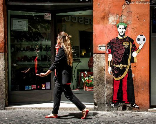 TvBoy, Franciscvs Totti VIII Rex Romae. Photo Oscar Giampaoli