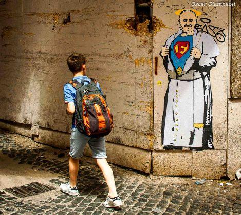 TvBoy, SuperFrancisco. Photo Oscar Giampaoli