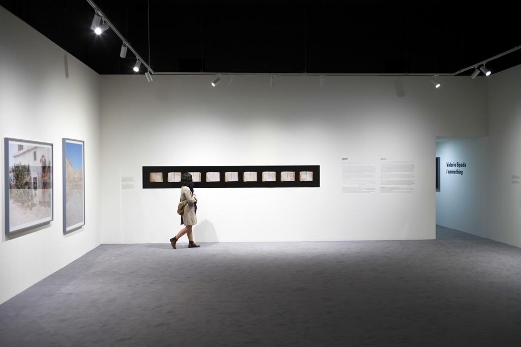 Valerio Spada. I am nothing. Exhibition view at CAMERA, Torino 2017