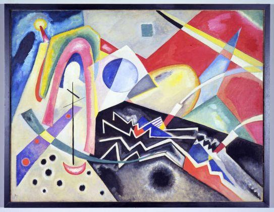 Vassily Kandinsky, Ca' Pesaro, Venezia, riallestimento opere