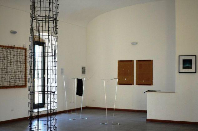Veduta installazione mostra al CUMO