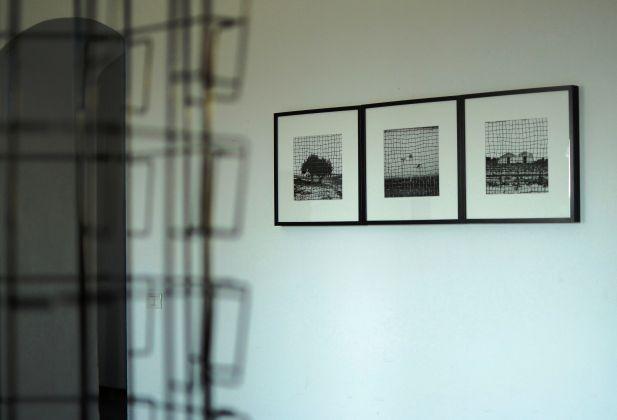 Veduta installazione mostra al CUMO - Germano Serafini