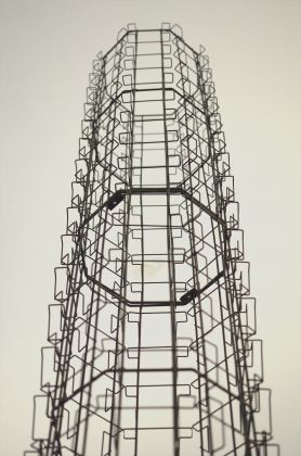 Veduta installazione mostra al CUMO NiccolХ De Napoli