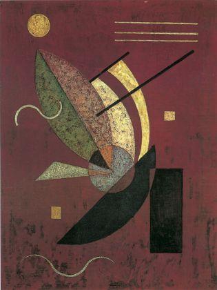 Wassily Kandinsky, Schwarzes Staebchen (Bastoncini neri), 1928