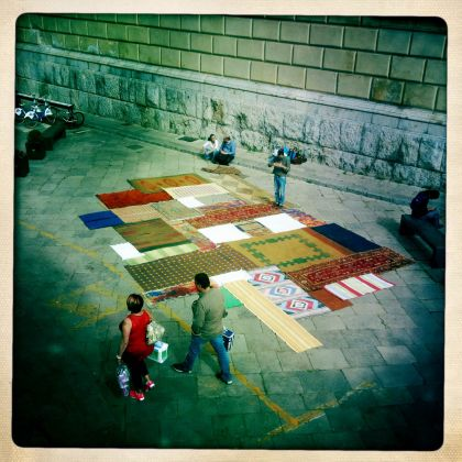 Welcome Carpet, Palermo, 2017