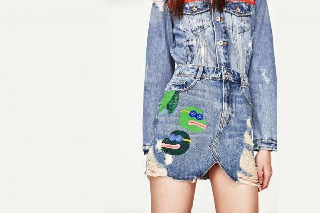 Yimeisgreat, capsule collection Zara - la minigonna con Pepe the Frog