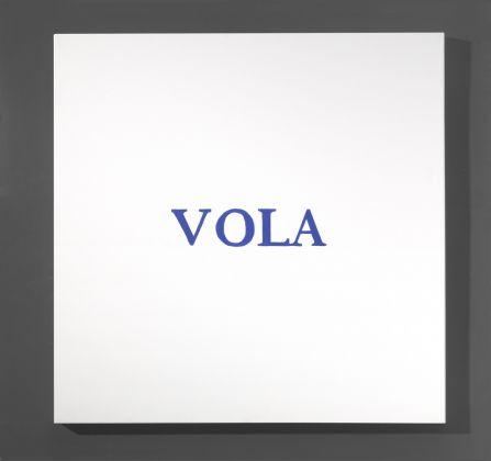 Yoko Ono, Word Painting, 2007. Photo Michele Bozzetto © Yoko Ono