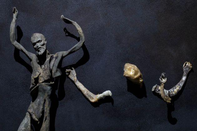 57. Esposizione Internazionale d'Arte, Venezia 2017, Padiglione Italia, Roberto Cuoghi, Imitazione di Cristo, photo credit altrospaziophotography.com