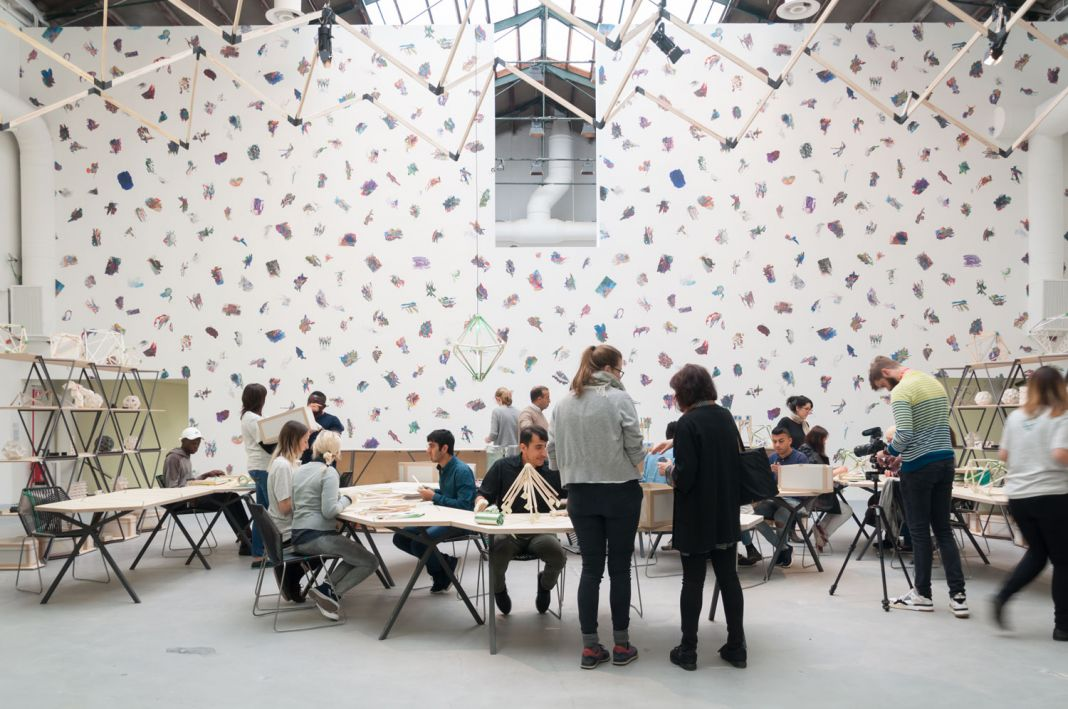 57. Biennale di Venezia, Giardini, Olafur Eliasson e Edi Rama, ph. Irene Fanizza