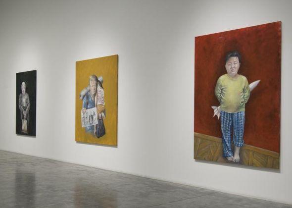 Abdalla Al Omari, The Vulnerability Series, installation view, Ayyam Gallery Dubai