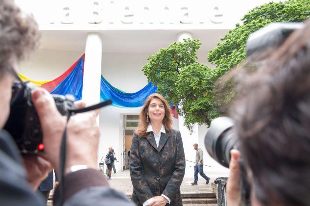Christine Macel, ph. Irene Fanizza