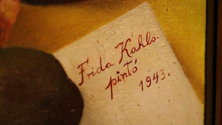 Un'opera di Frida Kahlo in mostra a Palazzo Albergati a Bologna