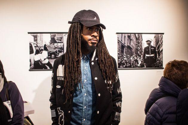 Opening della mostra di Jamel Shabazz a Brooklyn