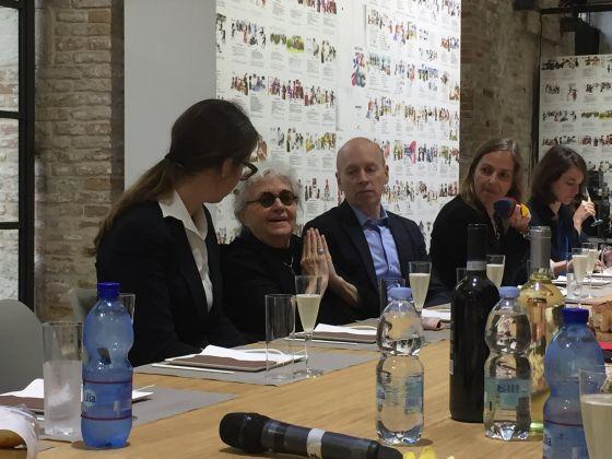 Michelle Stuart, Tavola Aperta, Biennale Arte 2017, Venezia