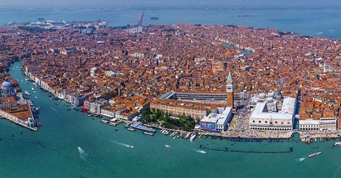 Venezia - vista dall'alto
