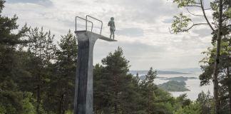 Elmgreen & Dragset, Dilemma, 2017. Ekebergparken, Oslo
