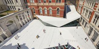 The Sackler Courtyard, V&A Exhibition Road Quarter, designed by AL_A ©Hufton+Crow