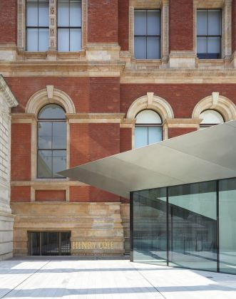 The Henry Cole Wing and café, the V&A Exhibition Road Quarter, designed by AL_A ©Hufton+Crow