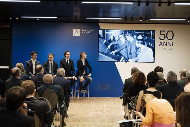 Presentazione della Fondazione Agnelli, Torino ©andreaguermani