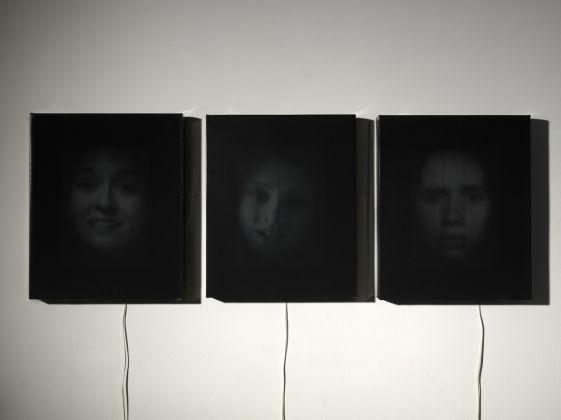 Luca Gaddini, Sindonext M.M.I in site specific, 2011, installazione [collocata nell'Oratorio di San Giuseppe]