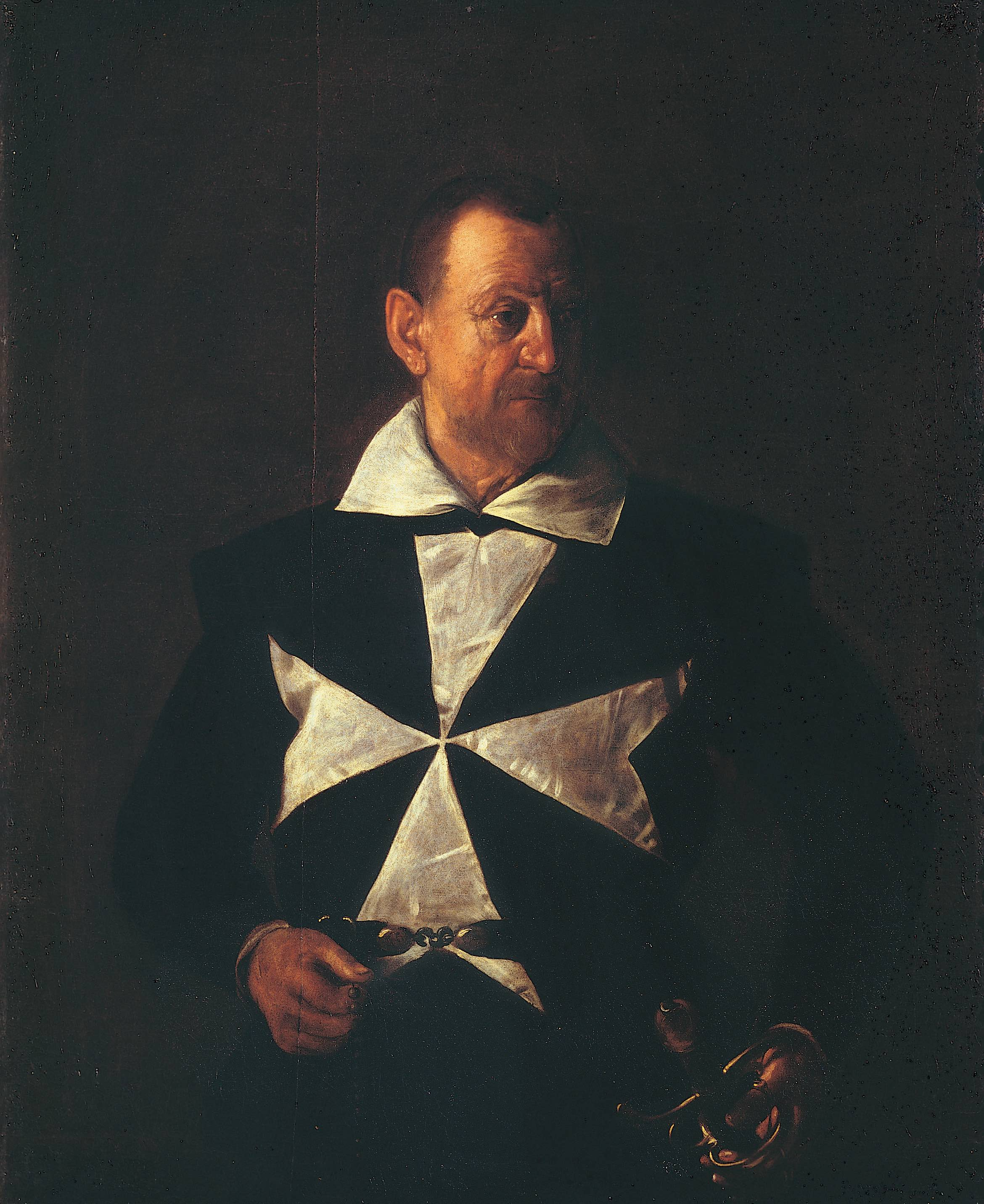 Michelangelo Merisi da Caravaggio Ritratto di un cavaliere di Malta, 1608 Olio su tela, 118,5 x 95 cm Galleria Palatina di Palazzo Pitti, Firenze ©Gabinetto Fotografico delle Gallerie degli Uffizi