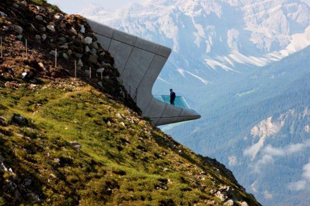 Messner Mountain Museum Corones (Kronplatz, Sud Tirolo, Italy) 2012 / 2015 Foto Inexhibit, courtesy Zaha Hadid Architects