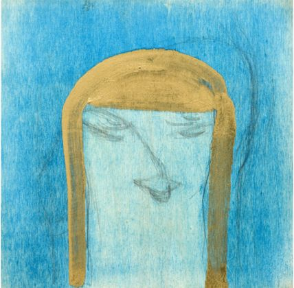 Marisa Merz, Senza titolo, 2000, tecnica mista su legno