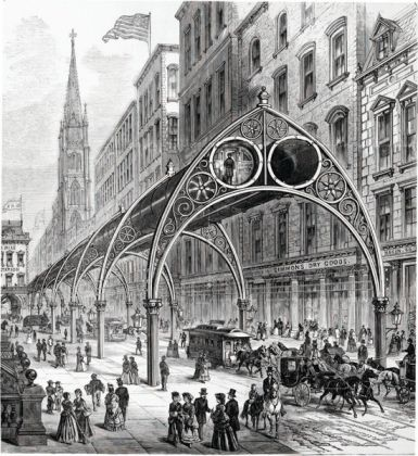 Rufus, Henry Gilbert's Elevated, Railway Never Built New York Metropolis Books