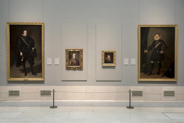 Image of the exhibition galleries © Museo Nacional del Prado.
