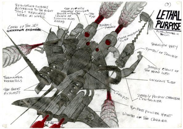 Abu Bakkarr Mansaray, Lethal Purpose (3), 1997. Courtesy CAAC-The Pigozzi Collection, Ginevra