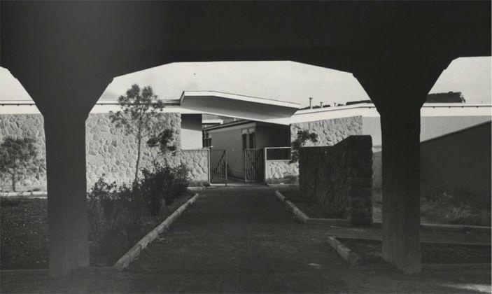 Adalberto Libera, Unità di Abitazione Orizzontale, Tuscolano, Roma 1950-54