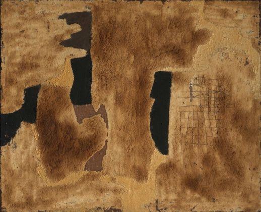 Alberto Burri, Sabbia, 1952. Collezioni Intesa Sanpaolo © Archivio Attività Culturali, Intesa Sanpaolo. Photo Paolo Vandrasch