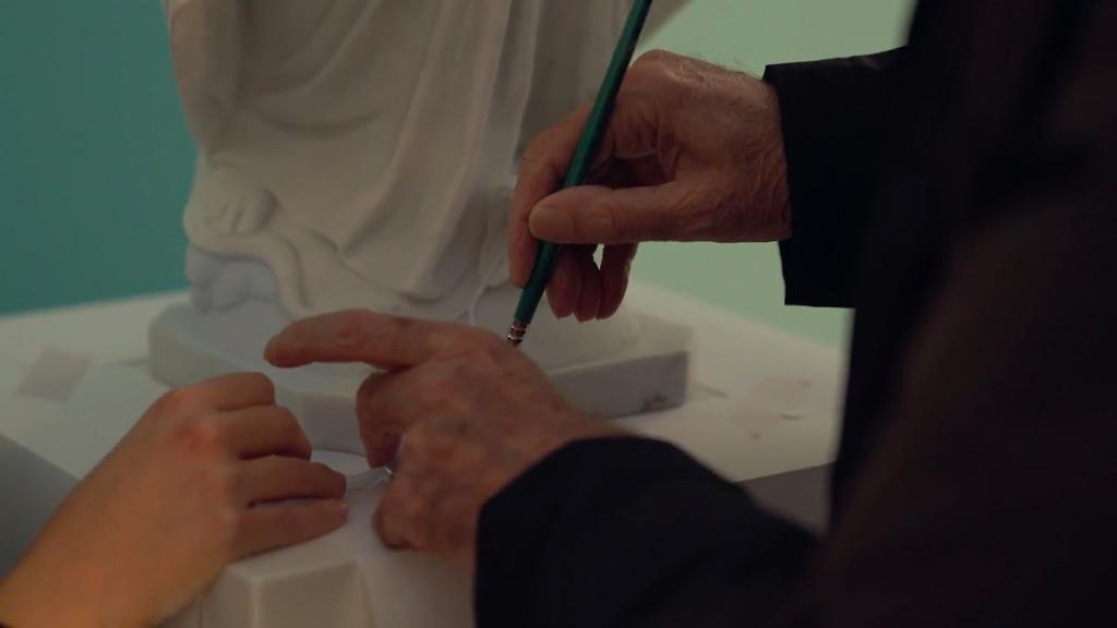 Alessandra Galletta, Ettore Spalletti, Italia (2017). Still da film
