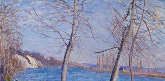 Alfred Sisley, Sulla riva del fiume a Veneux,1881. Johannesburg Art Gallery