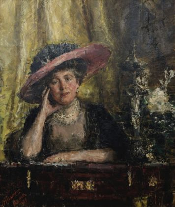 Antonio Mancini, Lady Phillips, 1909. Johannesburg Art Gallery